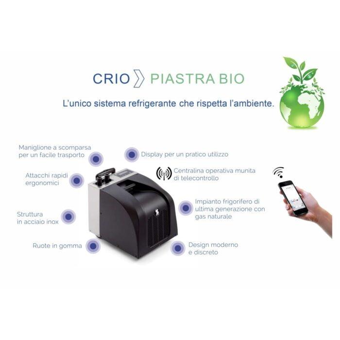 sistema refrigerante Crio telecontrollo